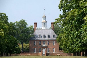Governor's Palace tour in Colonial Williamsburg