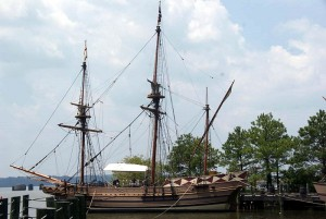 The Godspeed is a colonial ship which first brought pilgrims to Jamestown